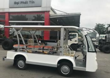 Xe điện chở bệnh nhân – phương tiện xanh chuyên dùng trong bệnh viện