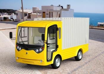 Tăng năng suất vận chuyển hàng hóa bằng cách sử dụng xe điện chở hàng