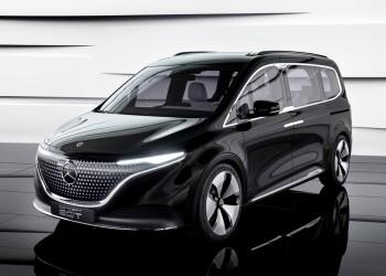 Mercedes-Benz giới thiệu MPV điện hạng sang
