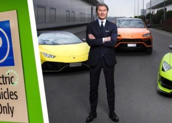 Lamborghini dồn sức làm xe điện