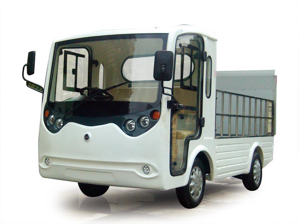 Xe điện chở hàng thùng lửng có nâng, Model LT-S2.B.HY6
